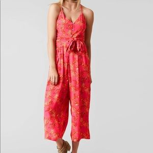 FREE PEOPLE Hot Tropics Wide Leg Jumpsuit
